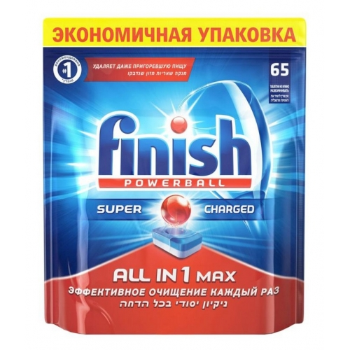 Finish All in 1 Блеск и Защита 65 штук