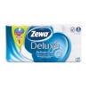 Zewa 8 шт (3 сл) белая бумага туалетная