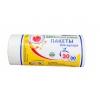 30л (30шт)  белые биоразлагаемые пакеты для мусора Avikomp