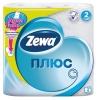 ZEWA Plus 2сл (4 шт) белая
