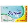 Туалетная бумага со втулкой 3-х слойная   Soffionе ( 8 рулона )